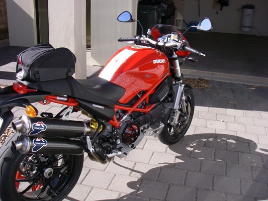 Ducati Monster with Ventura Bag